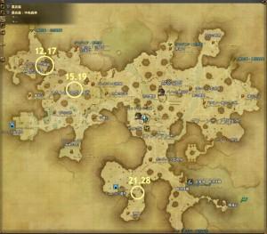 トレジャーハントG5マップ